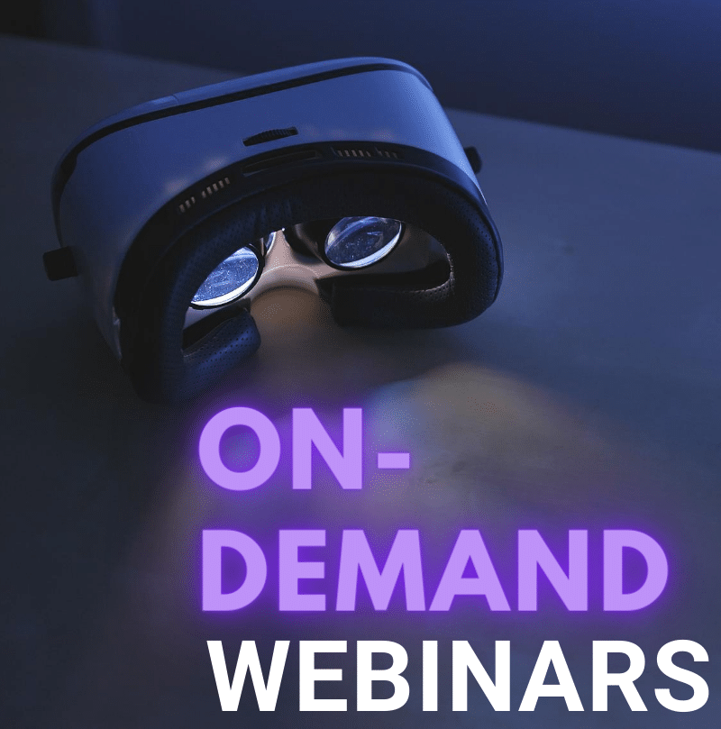 ON DEMAND WEBINARS RH